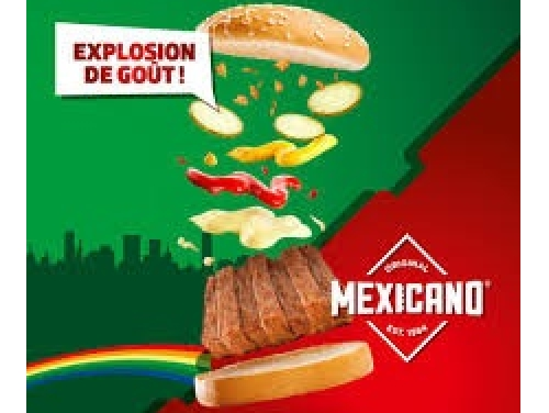 BICKY BURGER MEXICANO ORIGINAL NOUVEAU